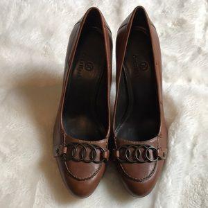 ColeHaan brown pump shoe 8 1/2 B